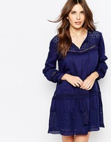 French Connection Lola Smock Dress