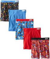 Fruit of the Loom Little Boys' Covered Waistband Boxer Brief