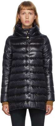 Herno Black Down Amelia Coat