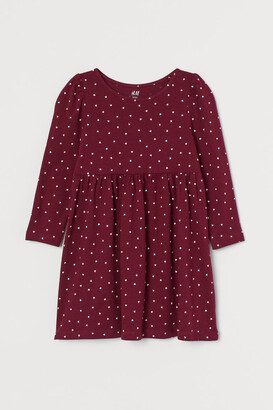 H&M Patterned jersey dress