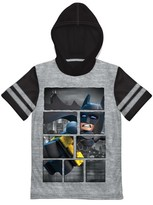 Batman Boys' The LEGO Movie T-Shirt - Grey