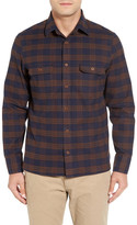 John W. Nordstrom Military Plaid Shirt Jacket (Big)