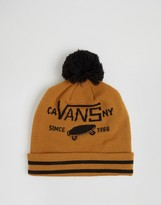Vans Fullpatch Ii Pombeanie In Yellow Va2x32kfr