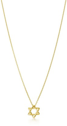 Tiffany & Co. Elsa Peretti Star of David pendant in 18k gold, 12 mm wide