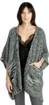 Sole Society Marled Knit Wrap w/ Pockets