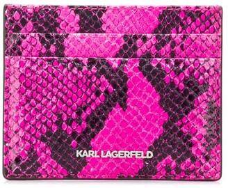 Karl Lagerfeld Paris Seven Snake cardholder