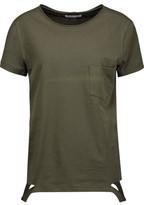 Helmut Lang Cutout Cotton T-Shirt