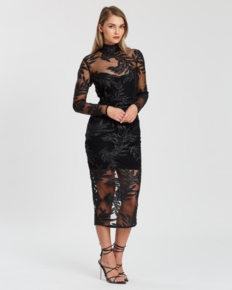 Nookie Vanity Longsleeve Midi Dress
