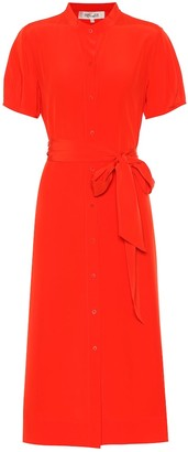 Diane von Furstenberg Addilyn silk crepe de chine dress