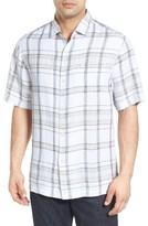 Tommy Bahama Men's Plaid-O-Matic Linen Sport Shirt
