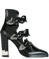 Toga Pulla buckle strap ankle boots - women - Leather - 38