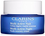 Clarins Multi Active Night Youth Recovery Comfort Cream for Normal Combination Skin for Unisex, 1.7 Ounce