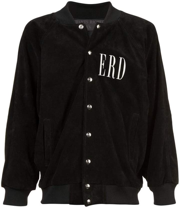 Enfants Riches Deprimes buttoned bomber jacket
