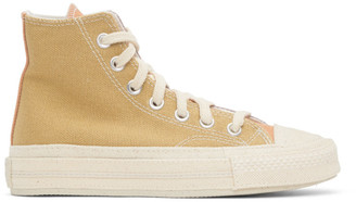 Converse Green and Purple Renew Chuck 70 High Sneakers