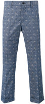 Sacai Aloha printed trousers - men - Cotton - 3