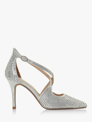 Head Over Heels Caroliina Embellished Stiletto Court Shoes