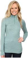 The North Face Long Sleeve Go Seamless Wool 1/4 Zip