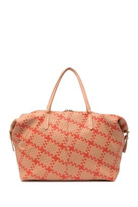 Deux Lux Montauk Woven Weekend Bag