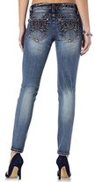 Miss Me Women's Mid Rise Ankle Skinny