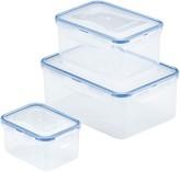 Lock & Lock Easy Essentials 6-pc. Rectangular Food Storage Container Set
