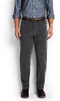 Classic Men's Traditional Fit Comfort Waist 14-wale Corduroy Pants-Sable