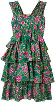 No.21 flower print dress - women - Cotton - 42