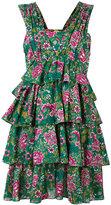 No.21 flower print dress - women - Cotton - 42