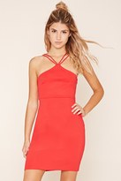 Forever 21 FOREVER 21+ Y-Neck Bodycon Dress