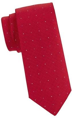 Eton Micro Dot Silk Tie