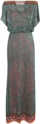 M Missoni Dress W/s Boat Neck