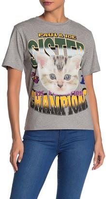 Paul & Joe Sister Winner Cat T-Shirt