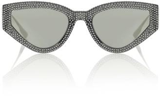 Christian Dior Dior1S embellished sunglasses