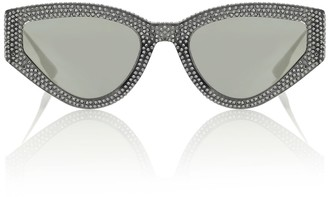 Christian Dior Dior1S embellished sunglasses