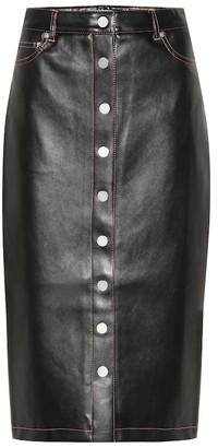 Proenza Schouler Faux leather pencil skirt