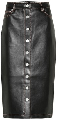 Proenza Schouler Faux leather pencil skirt