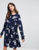 Pieces Ariel Print Dress