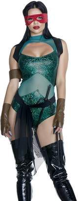 Forplay Women's Tough Shell Sexy Movie Character Costume