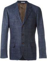 Brunello Cucinelli checked tweed blazer