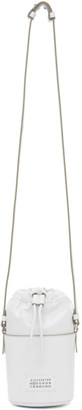 Maison Margiela White Micro 5AC Bucket Bag