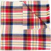 Levi's check-pattern scarf
