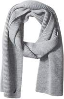 Nautica Men's Solid Full Needle Scarf