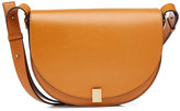 Victoria Beckham Half Moon Box Leather Shoulder Bag