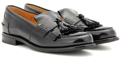 Church's Omega leather loafers