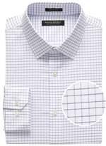 Grant Slim-Fit Non-Iron Mini Grid Dress Shirt