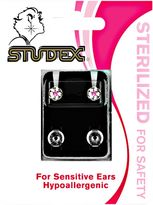 Studex Pink Daisy Universal Piercing Earrings 5mm