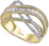 Effy Duo by Diamond Ring (1-3/8 ct. t.w.) in 14k Gold and White Gold