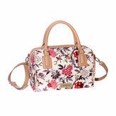 Waverly Bird Floral Large Satchel