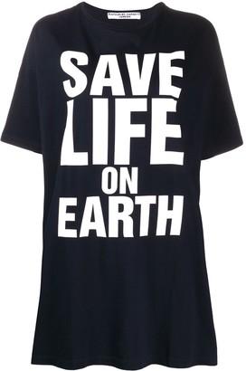 Katharine Hamnett large script oversized T-shirt