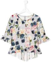 MonnaLisa floral print top