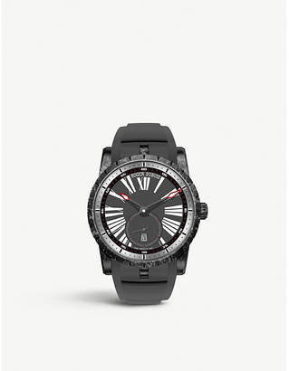 Roger Dubuis RDDBEX0510 Excalibur 42 titanium, carbon and rubber automatic watch
